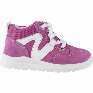 Superfit Mädchen Leder Lauflern Sneakers rosa, mittlere Weite, herausnehmbare...