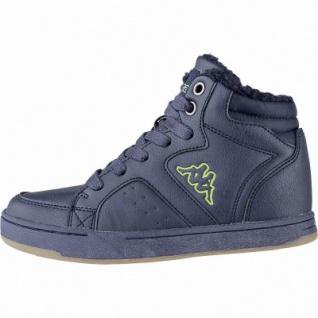 Kapppa Nanook coole Jungen Synthetik Winter Sneakers navy, Warmfutter, herausnehmbares Fußbett, 3741127/37