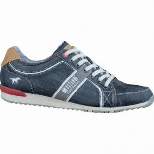 Mustang modische Herren Synthetik Sneakers stein, gepolsterte Decksohle, 2136117