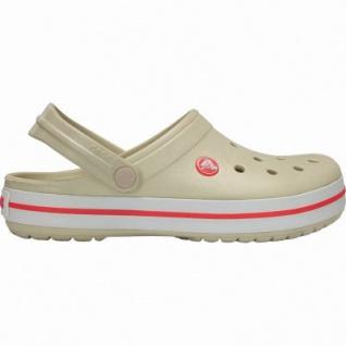 uk availability 78906 00253 Crocs Crocband Damen Crocs stucco, verstellbarer Fersenriemen, 4338109/38-39