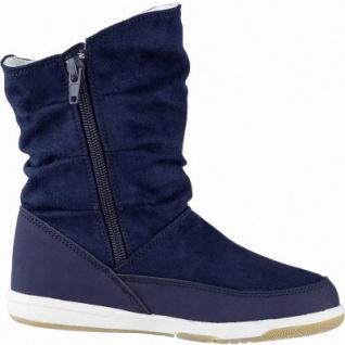 Kapppa Cream coole Mädchen Synthetik Winter Stiefel navy, 13 cm Schaft, Warmfutter, warmes Fußbett, 3741132/33 - Vorschau 2