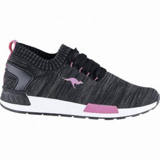 Kangaroos K-Wu Herren Synthetik Winter Sneaker Boots jet black, Warmfutter, warme Decksohle, Laschen-Tasche, 2541108/41