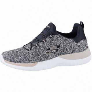 Skechers Dynamight coole Damen Jersey Sneakers, Jogging Schuhe black, Skechers Memory Foam-Fußbett, 4142116/36
