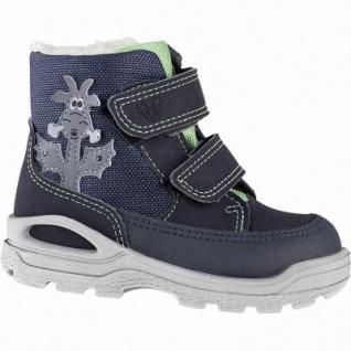 Pepino Bixi coole Jungen Synthetik Winter Tex Boots see, Lammwollfutter, warmes Fußbett, breitere Passform, 3241140/23