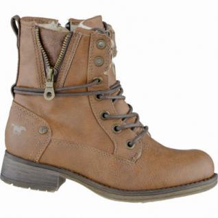 Mustang coole Mädchen Synthetik Winter Boots kastanie, Warmfutter, warme Decksohle, 3739111/37