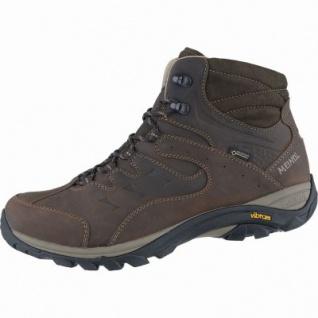 Meindl Caracas Mid GTX Herren Leder Outdoor Schuhe braun, Air-Active-Fußbett, 4438168
