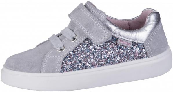 RICHTER Mädchen Leder Sneakers fog, Lederfutter, herausnehmbares Leder Fußbett