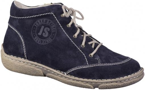 JOSEF SEIBEL Neele 01 Damen Leder Boots ocean, molliges Warmfutter, warme Dec...