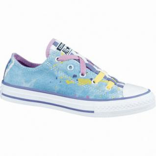 Converse CTAS Chuck Taylor All Star Loopholes Mädchen Canvas Sneaker moody/purple/cactus/ blossom/Po, Textilfutter, 3336132