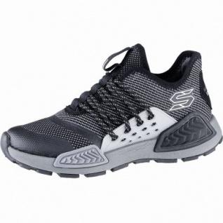 Skechers Kinectors coole Jungen Mesh Sneakers black, Skechers Air Cooled Memory Foam-Fußbett, 4240172/33
