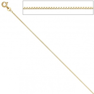 Venezianerkette 333 Gelbgold 1, 0 mm 45 cm Gold Kette Halskette Goldkette - Vorschau 4