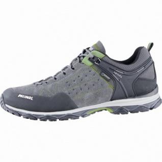 Meindl Ontario GTX Herren Leder Outdoor Schuhe grün, Air-Active-Fußbett, 4439118
