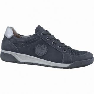 Jenny Seattle sportliche Damen Synthetik Sneakers schwarz, Weite G, Luftpolstersohle, Jenny Fußbett, 1337125