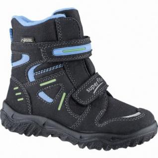 Superfit Jungen Winter Synthetik Gore Tex Boots schwarz, Warmfutter, warmes Fußbett, 3739145