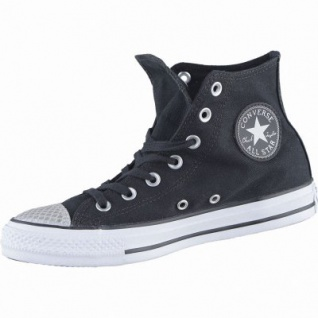Converse Chuck Taylor All Star-Metallic Toecap-HI coole Damen Canvas Metallic Sneakers black, 4238192/36.5