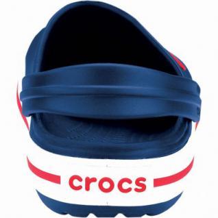 Crocs Crocband Kids Mädchen, Jungen Crocs navy, verstellbarer Fersenriemen, 4338122/34-35 - Vorschau 2