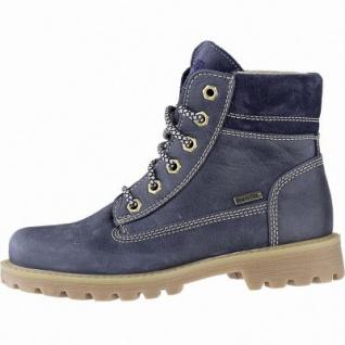 Richter Mädchen Leder Tex Boots atlantic, 11 cm Schaft, mittlere Weite, Warmfutter, warmes Fußbett, 3741225/37