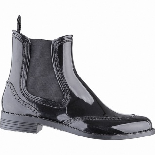 Beck City chice Damen PVC Regen Boots schwarz, herausnehmbare Einlegesohle, G...