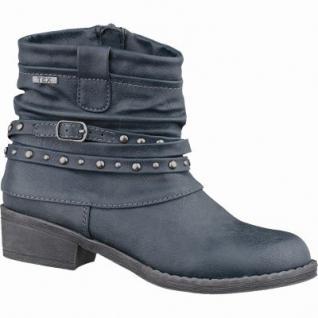 Indigo sportliche Mädchen Synthetik Tex Stiefel graphit, leichtes Warmfutter, warmes Fußbett, 3737170