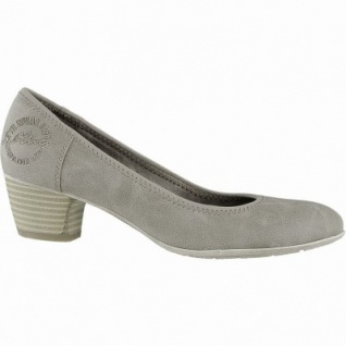 s.Oliver modischer Damen Leder Imitat Pumps pepper, gepolsterte Soft-Foam-Decksohle, 1040190
