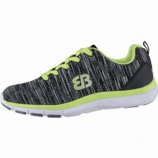 Brütting Shadow coole Mädchen Textil Sportschuhe, Sneaker schwarz, Textilfutter, 4040108/38