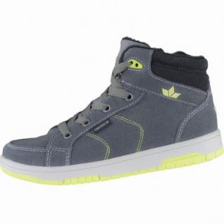 Lico Pilgram modische Jungen Synthetik Sneakers grau, Warmfutter, Textileinlegesohle, 3739153