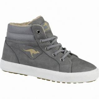 Kangaroos KaVu l coole Jungen Synthetik Winter Sneakers grey, Warmfutter, warmes Fußbett, 3739137