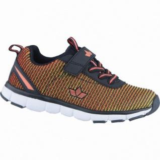 Lico Multi VS coole Mädchen Textil Sneakers schwarz, auswechselbare Textileinlegesohle, 4238225/41