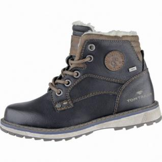 TOM TAILOR coole Jungen Synthetik Winter Boots black, molliges Warmfutter, weiche Laufsohle, 3739215/34