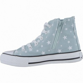 Canadians coole Mädchen Glamour Synthetik Sneakers High turquoise, weiches Fußbett, 3340143
