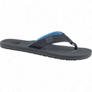Reef HT Herren Synthetik Zehen Pantoletten neon blue, weiche Decksohle, 2438111