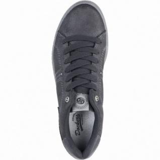 Dockers modische Damen Synthetik Sneakers schwarz, Cambrellefutter, Plateaulaufsohle, 1239122/36 - Vorschau 2