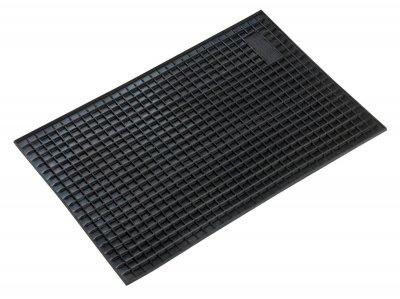 Universal NBR Auto Gummimatten schwarz 43x29 cm, Anti Slip, rutschhemmende Spikes, Auto Fußmatten, Schutzmatten
