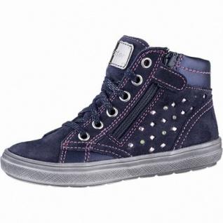 Richter Mädchen Leder Sneakers atlantic, mittlere Weite, Textilfutter, herausnehmbares Leder Fußbett, 3341111/33