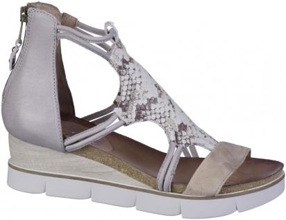 MJUS Damen Leder Sandaletten gazella, Lederfutter, softe Leder Decksohle