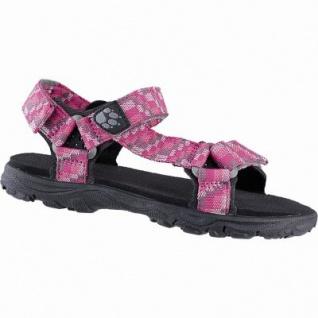 Jack Wolfskin Seven Seas 2 Sandal G Mädchen Polyester Sandalen tropic pink, Neoprenpolster-Pads, 3542176/28