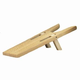 klappbarer Stiefelknecht aus Holz, für leichtes, schonendes Ausziehen von Sti...