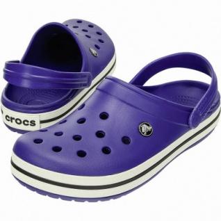 Crocs Crocband leichte Damen, Herren Crocs cerulean blue, Croslite Foam-Fußbett, Belüftungsöffnungen, 4340102/41-42 - Vorschau 2