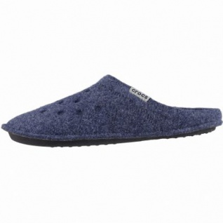 new style 047aa 8cbe2 Crocs Classic Slipper Damen, Herren Winter Textil Hausschuhe navy, warmes  Futter, 1939111/39-40