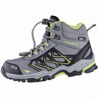 Kangaroos Molas HI Jungen Synthetik Tex Trekking Boots grey, Meshfutter, Fußbett, 4439125/28