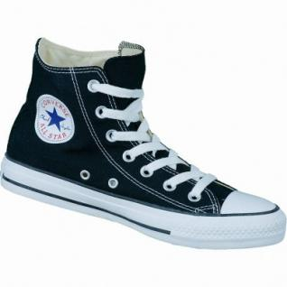Converse Chuck Taylor All Star High schwarz, Damen, Herren Canvas Chucks, 4234127/44.5