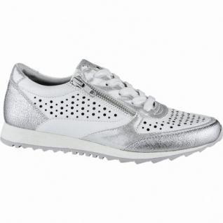 Jane Klain coole Damen Synthetik Sneakers white, softe Decksohle, 1240170