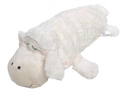 süßer Kinder Wärmflaschenbezug Schaf aus Mikrofaser, waschbar, ca. 45x23 cm