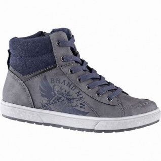 Indigo Jungen Synthetik Winter Boots grey, molliges Warmfutter, warmes Fußbett, 3741197