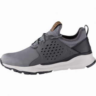 Skechers Relven Hemson coole Herren Synthetik Sneakers grey, Skechers Air-Cooled Memory Foam-Fußbett, 4241146/44