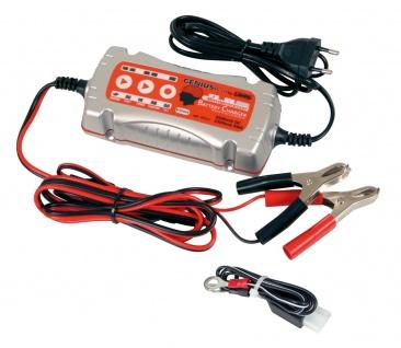 LAMPA intelligentes digitales mikroprozessorgesteuertes Batterie Ladegerät 6/...