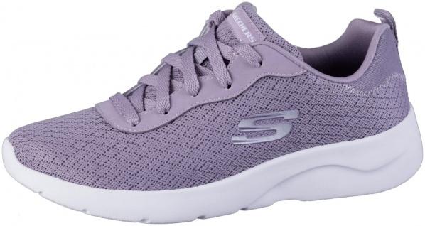 SKECHERS Dynamight 2.0 Damen Jersey Sneakers lavender, Memory Foam Fußbett