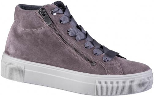 LEGERO Damen Leder Sneakers dark clay, Comfort Weite G, Textilfutter - Vorschau 3
