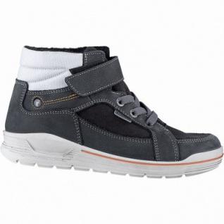 Ricosta Mateo Jungen Tex Sneakers asphalt, 9 cm Schaft, mittlere Weite, Warmfutter, warmes Fußbett, 3741266/39