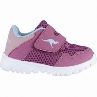 Kangaroos Inlite 4003 coole Mädchen Synthetik Sneakers magenta, Kangaroos Decksohle, Laschen-Tasche, 3040103